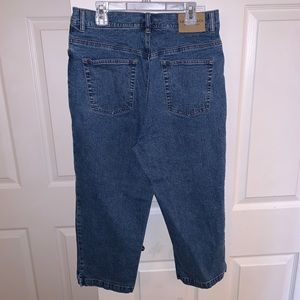 Ralph Lauren High Rise Mom Style Cropped Jeans